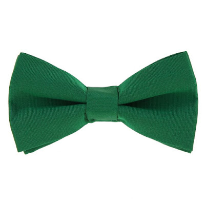 green-bow-tie