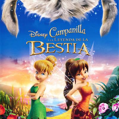 Campanilla y la Leyenda de la Bestia - [2014]