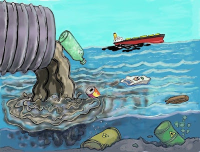 jal pradushan mahiti marathi, water pollution in marathi