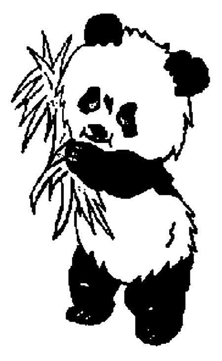 panda bear coloring page hicoloringpages