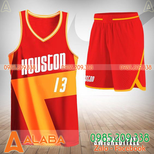 Áo bóng rổ Houston độc lạ