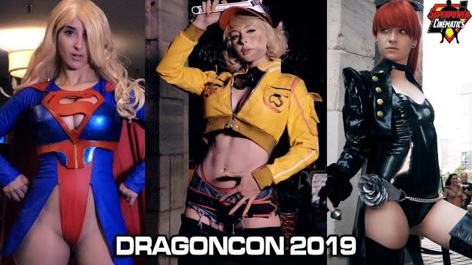 Nuevo video de cosplay desde la DragonCon