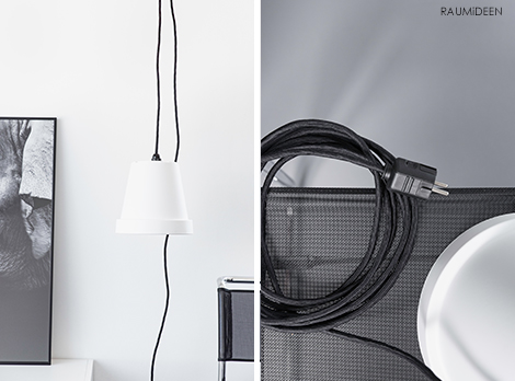 DIY - Lampe im Readymade-Design