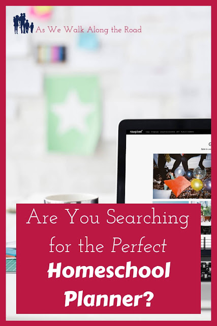 Searching for the perfect homeschool planner
