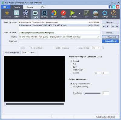 تحميل برنامج AVS Video Converter تحويل الفيديو مجانا كامل