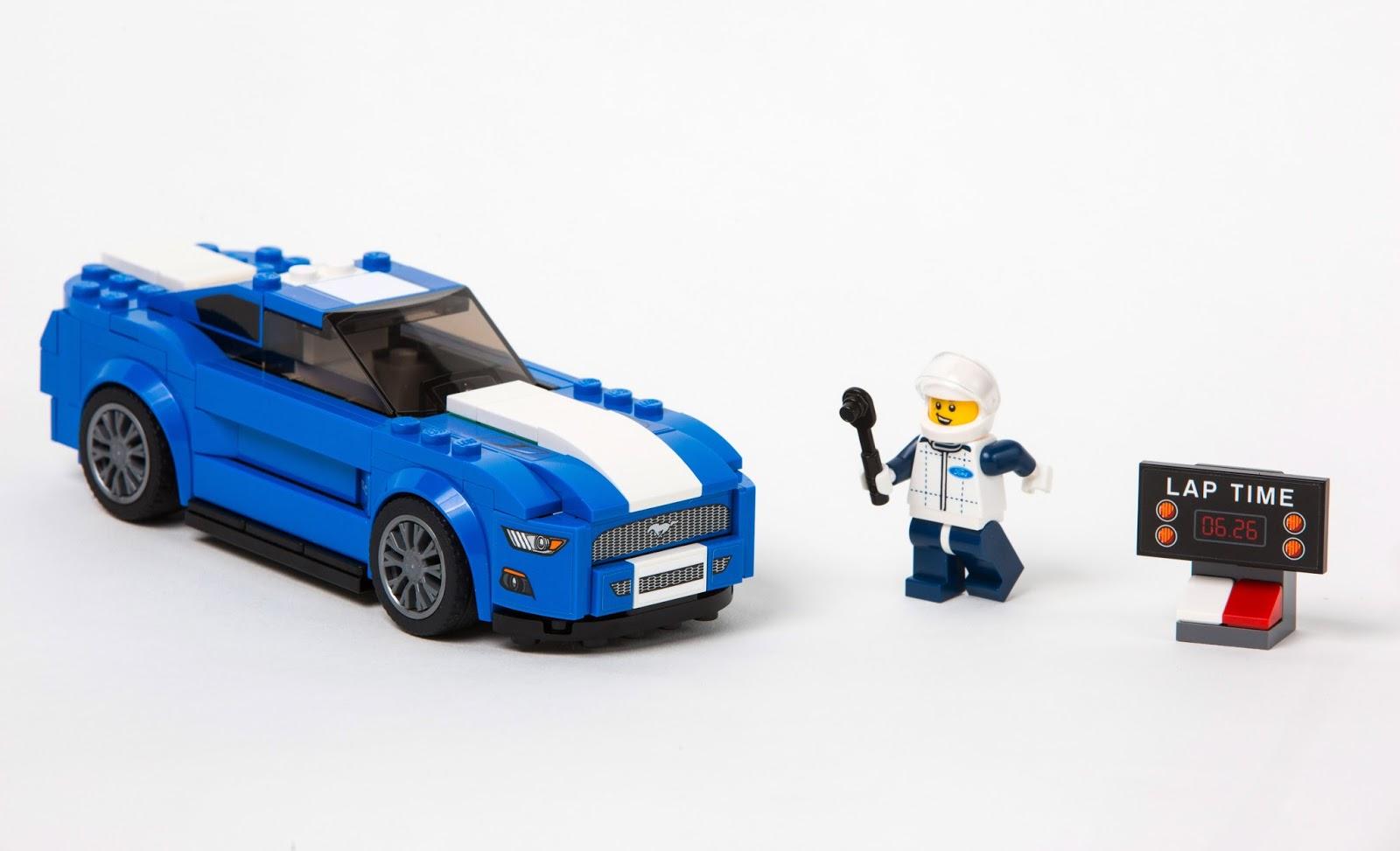 LEGOMustangSet Νέα LEGO Ford Mustang και F-150 Raptor και τα Παιδικά Όνειρα Γίνονται Πραγματικότητα