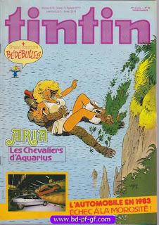 les chevaliers d'Aquarius sur www.bd-pf-gf.com