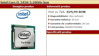 Ivy Bridge i5 3450