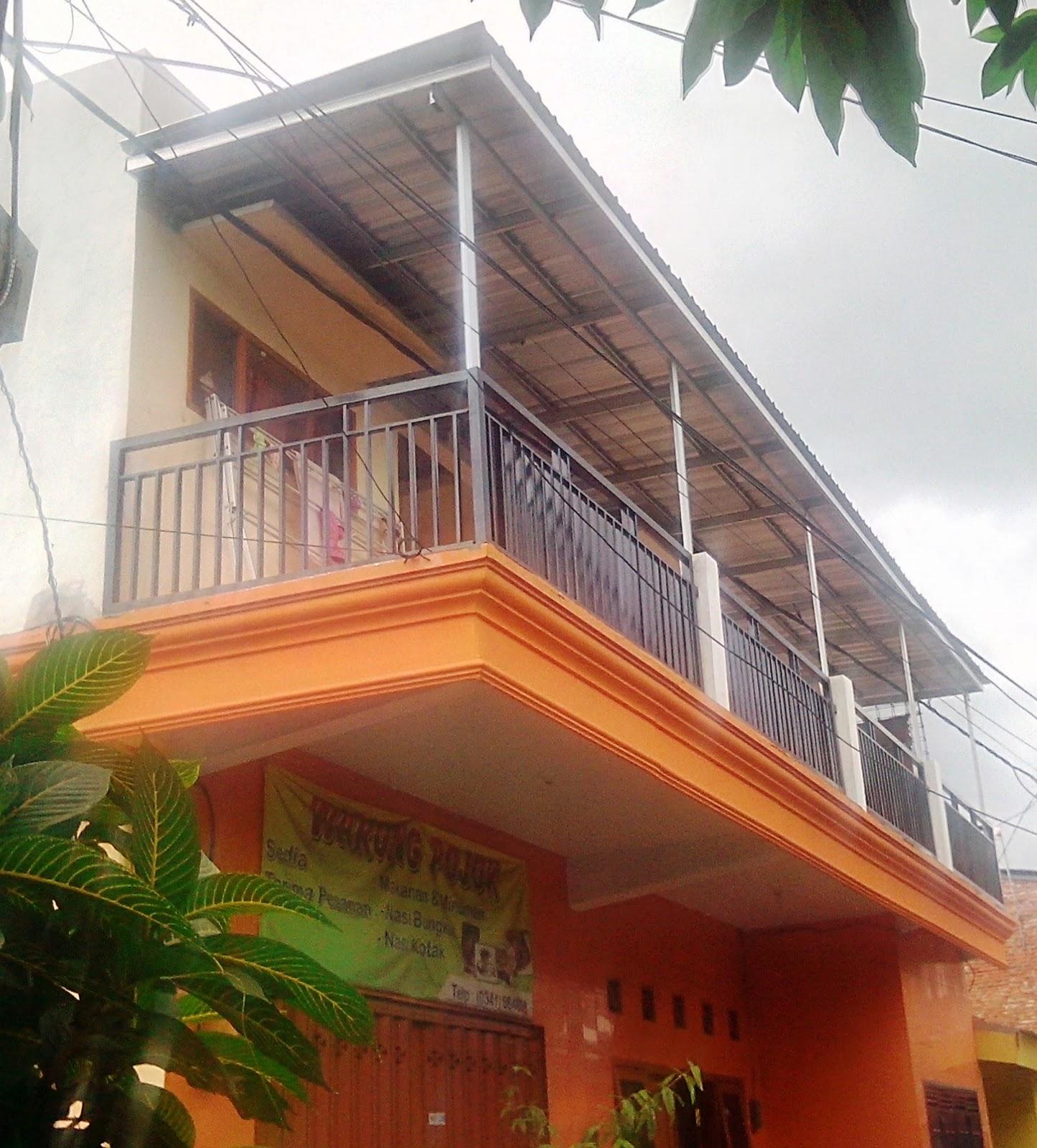 Gambar Rangka  Kanopi  Galvalum Desain Rumah