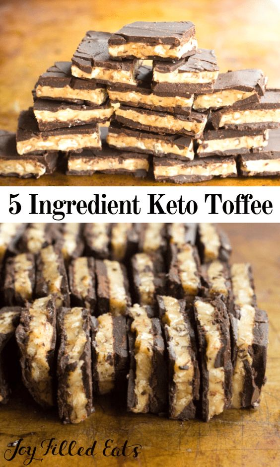 BUTTERY WALNUT TOFFEE CANDY – KETO, LOW CARB, THM S