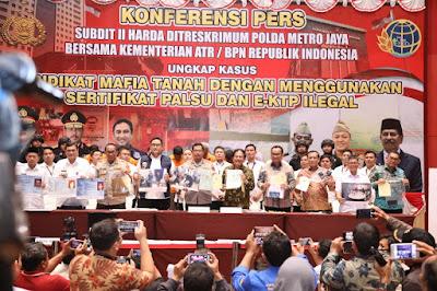 Nekat!! Mafia Properti Palsukan Suami-Istri Rugikan Rp85 Miliar Dibekuk Oleh Polda Metro Jaya(PMJ)