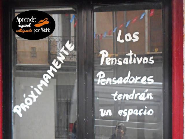Aprende español callejeando por Madrid: Darle al coco