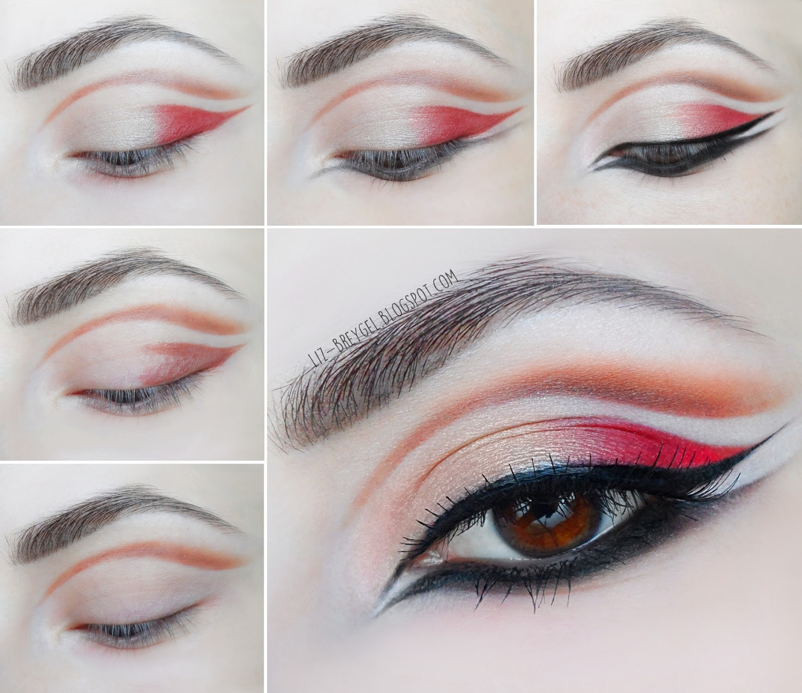 Double Cut Crease And Double Liner Step By Step Tutorial