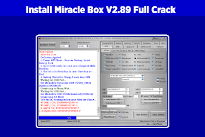 Cara Install Miracle Box V2.89 Crack Tanpa Error, 100% Work & Tested