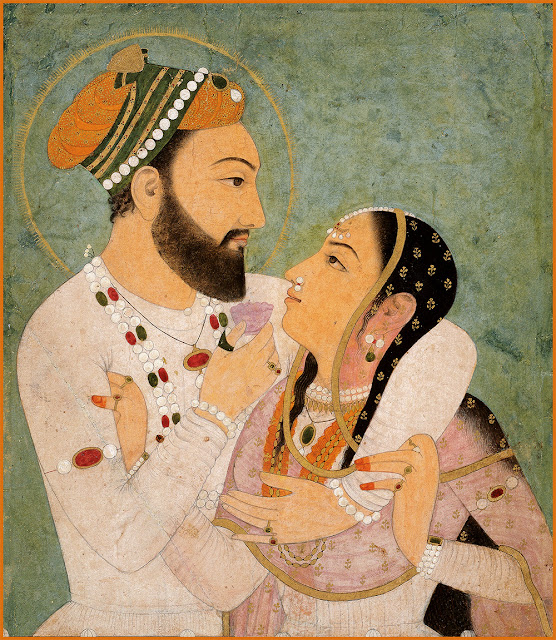 Dara Shukoh and Nadira Banu Begum