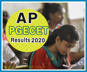 AP PGECET Results 2020