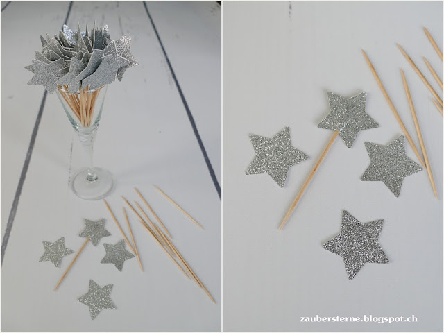 DIY Foodsticks, Sternenapero