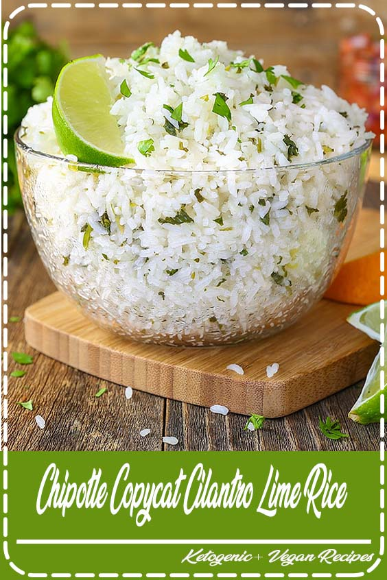 Chipotle Copycat Cilantro Lime rice is a simple recipe that is sure to become a staple in Chipotle Copycat Cilantro Lime Rice