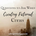 Questions to Ask When Creating Fictional Cities