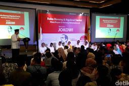 Buka Puasa Bareng Relawan, Presiden Jokowi Bicara Revolusi Industri 4.0