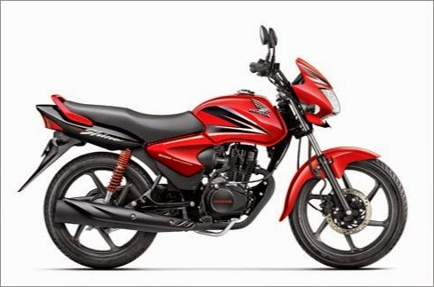 Honda Shine Dual Tone Red Color