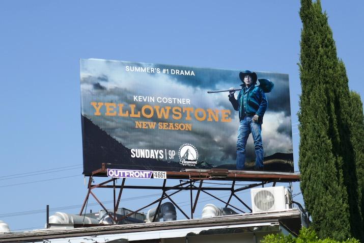 Yellowstone season 3 billboard