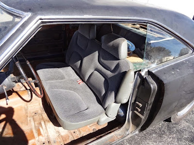 custom seat for 1970 Charger