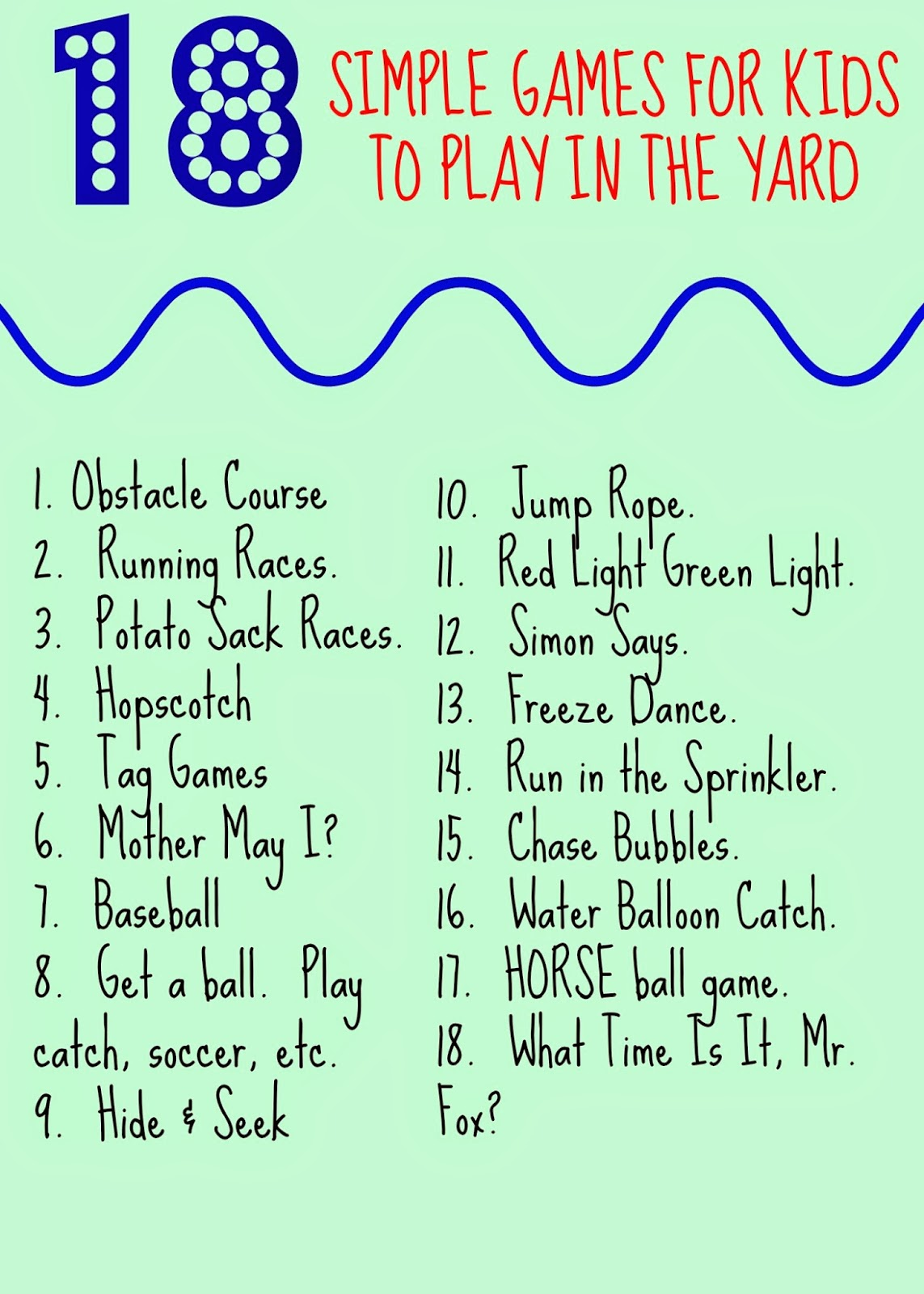 The Chirping Moms 18 Simple Yard Games For Kids Amp Giveaway