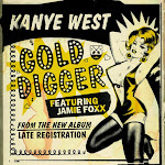 Kanye West - Gold Digger (feat. Jamie Foxx) - Single Cover