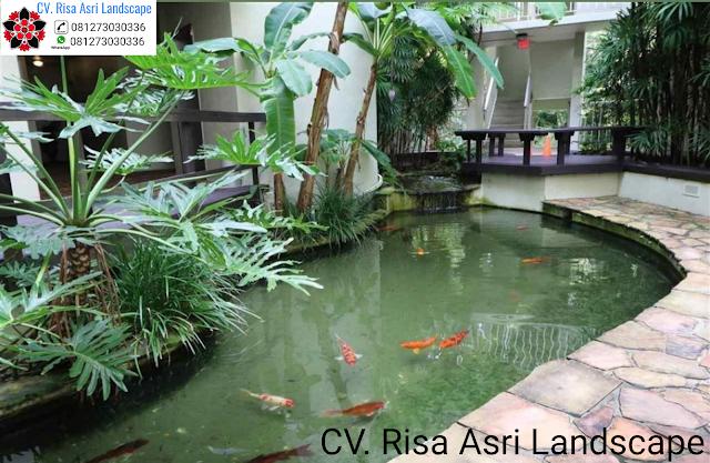Jasa pembuatan kolam ikan koi Surabaya & tukang kolam ikan koi Surabaya