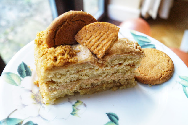 ginger nut biscuit cake