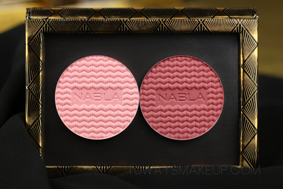 Nabla Goldust Blush swatch
