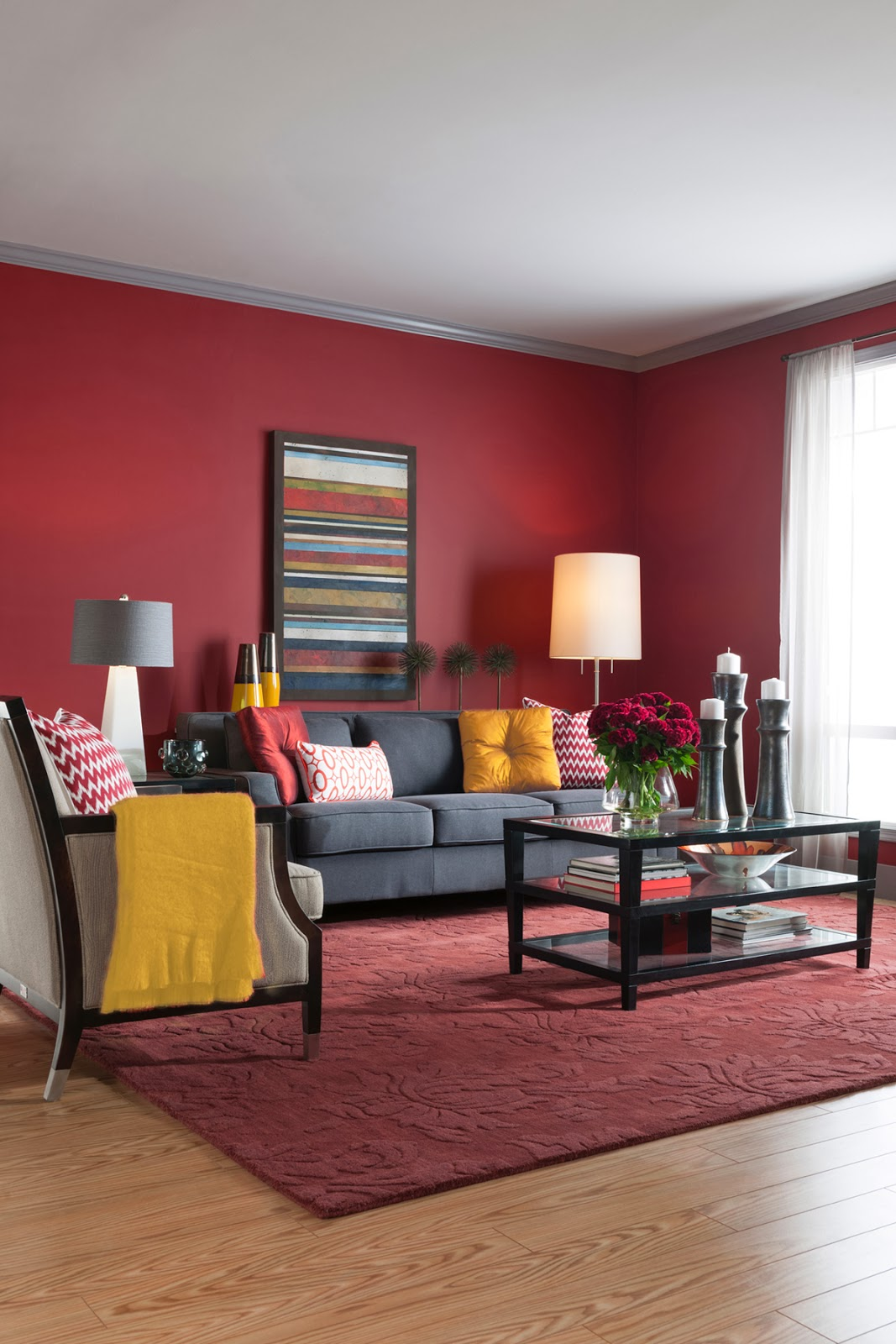 cranberry living room cil paint giveaway markova design 11082