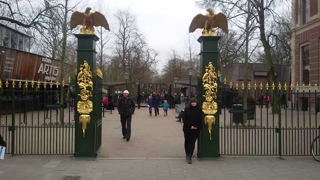 Jardim zoológico Natura Artis Magistra em Amsterdã