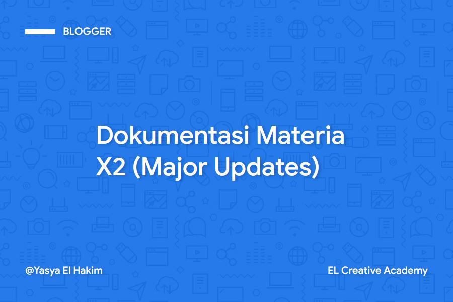 Dokumentasi Lengkap Materia X2 Premium (Major Updates)