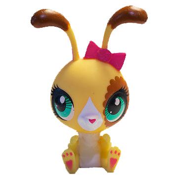 Details about  /Littlest Pet Shop~#3173~McDonald/'s~Yellow Brown~Buttercream Sunday~Bunny Rabbits