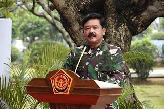 Pasca Serangan Teroris di Gereja dan Mabes Polri, Panglima TNI Perintahkan Peningkatan Pengamanan.