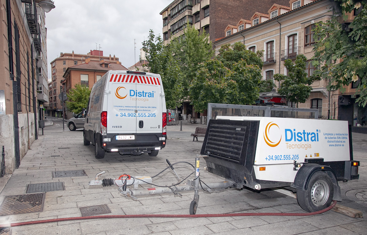 reparaciones tuberías manga encamisado Sevilla