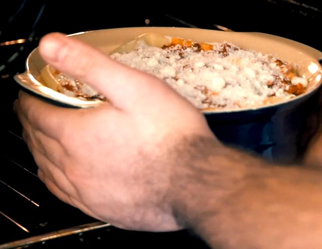 Lasagna Al Forno Dish