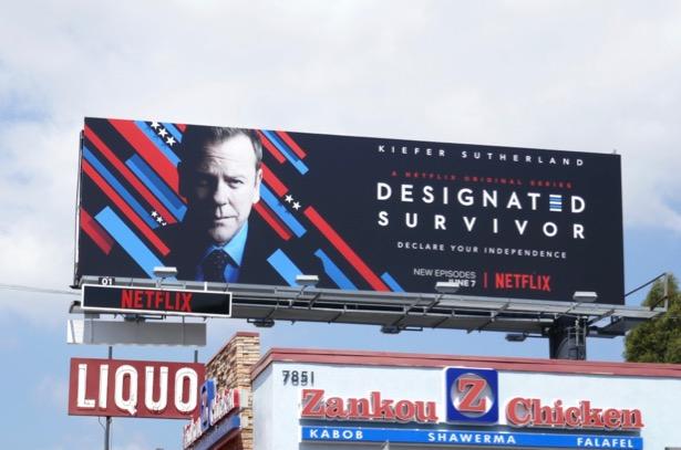 Designated Survivor season 3 billboard