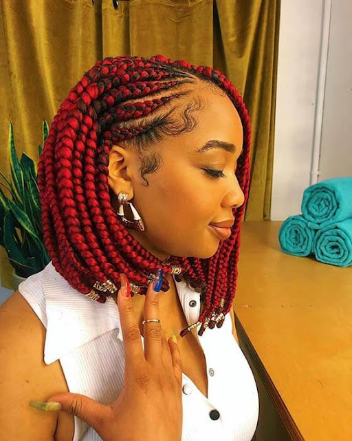 Cornrows styles are a traditional way of braiding hair and it is also may be one of the m ✘ 21+ Latest African Cornrow Braids That Will be perfect