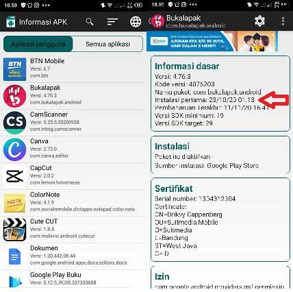 Cara Melihat Tanggal Download Aplikasi Di Android Semua Tipe Nggatekno