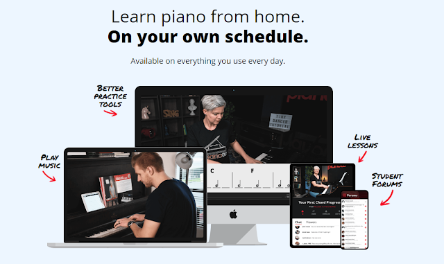in which i begin re-learning how to play piano -- using pianote.com