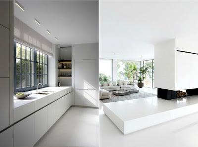Minimalist Design - Space, Light, Furniture