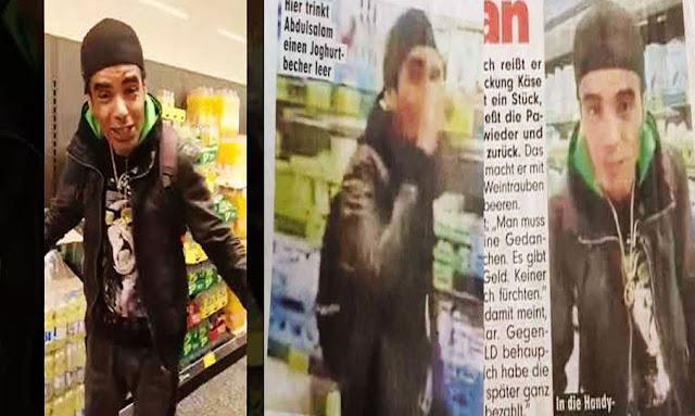 تونسي في ألمانيا يورط نفسه في تهمة القتل عبر فيديو نشره وهو يقضم موائد غذائية في فضاء تجاري
