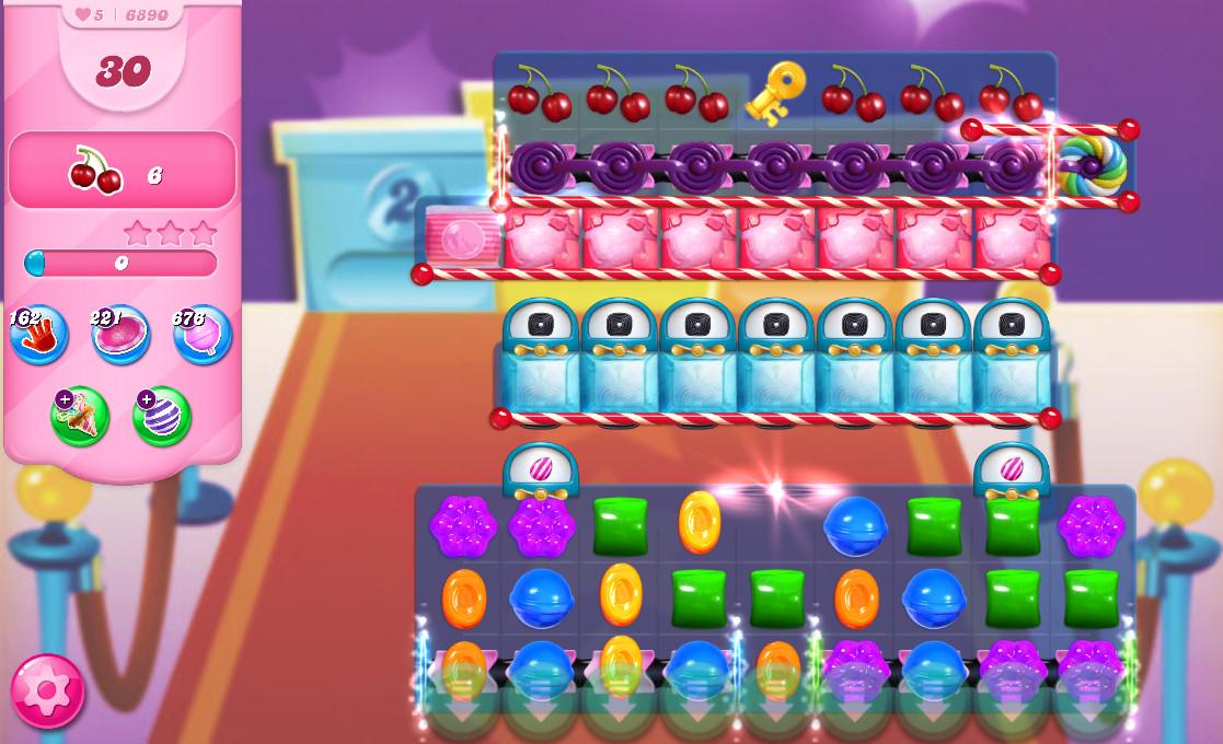 Candy Crush Saga level 6890