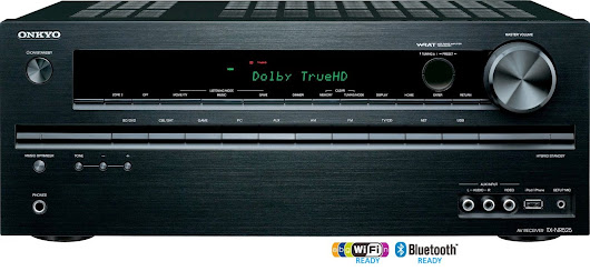 Onkyo TX-NR525 5.2-Channel Network Audio Video Receiver - TX-8050 Network Stereo Receiver Review