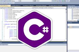 Pengenalan Bahasa Pemograman C# dan Kenapa Harus Belajar C# ?