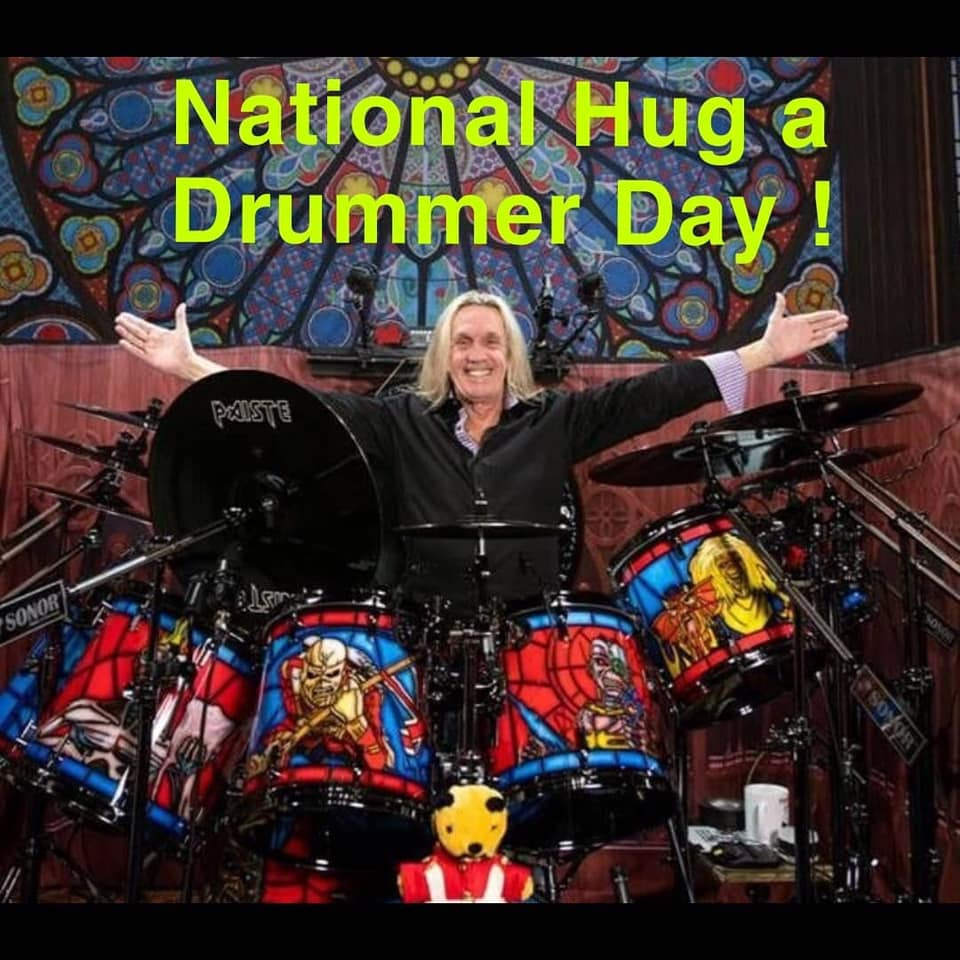 National Hug a Drummer Day Wishes For Facebook