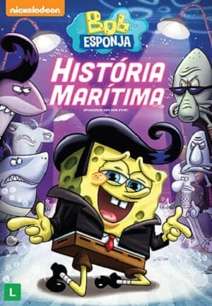 Bob Esponja - História Marítima Torrent torrent download capa
